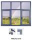 铝合金平开窗-HMLHJ610
