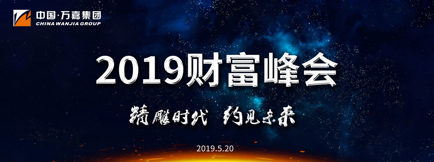 直击万嘉集团2019年度财富峰会:精雕时代 约见未来