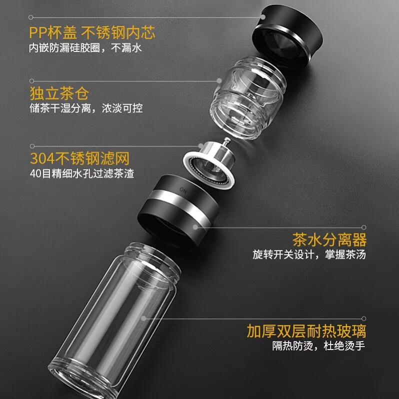 旋转式过滤玻璃杯 W-9004