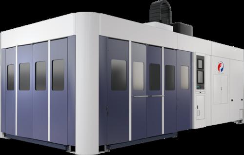 龙门式三维五轴激光切割系统