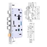 豪华锁体 -PY-ST607不锈钢方头锁