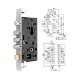 豪华锁体 -PY-ST605不锈钢锁