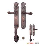 防盗门锁 -PY8808-1-红古铜