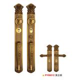 防盗门锁 -PY9901-黄古铜