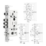 豪华锁体 -PY-ST609 防锯锁
