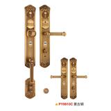防盗门锁 -PY9910-黄古铜