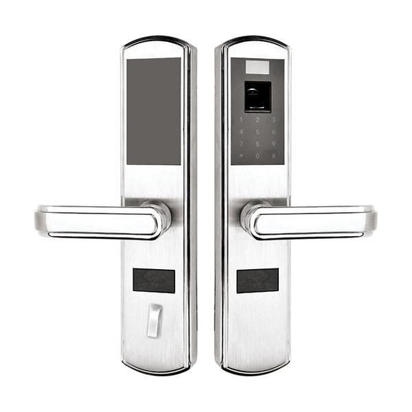 锌合金指纹密码锁系列 PY6001 不锈钢