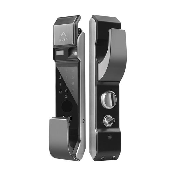 锌合金指纹密码锁系列 PY6007 全自动通配