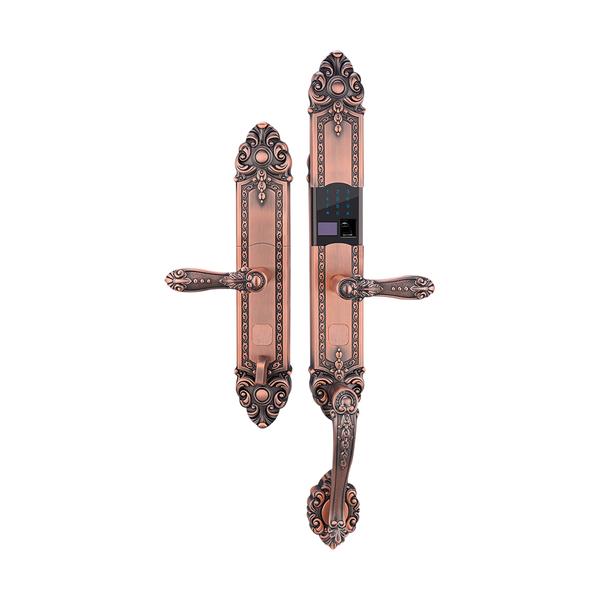 锌合金指纹密码锁系列 PY6003 红古铜/黄古铜
