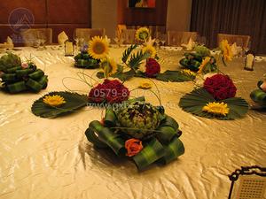 新城花园奢华桌面摆台-QXTB0645