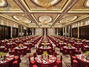 红色宴会厅台布 -QXTB0674 QX509