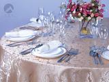 纯色桌布玫瑰金 -QX146