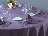 紫色台布 -QXTB0066