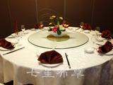七星岛13年最流行餐桌布草-凤尾叶台布 -QXTB0992