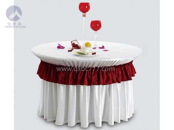 梦芭莎新娘主婚桌布草-QX-YHBC001