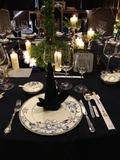 欧式黑色奢华桌布 -豪包-意式风格