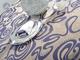 qx时尚元素紫青单铺桌布2