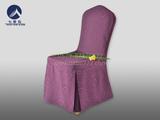 酒店椅套紫红 -QXYT002