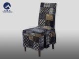 青土布包厢椅套