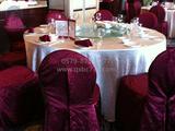香格里拉大酒店生日宴会桌布椅套 -QX-SR001