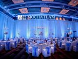 蓝色经典西式婚宴 -柏悦大酒店