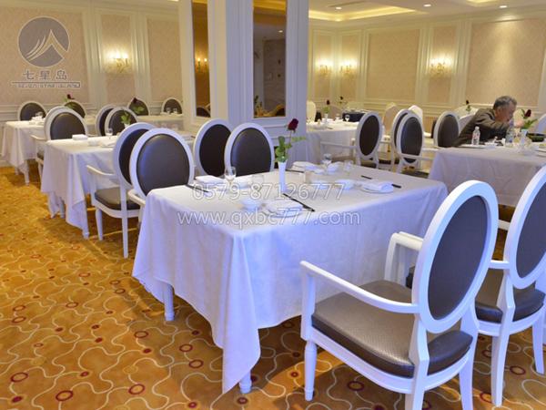 椰树漂白西餐厅桌布-
