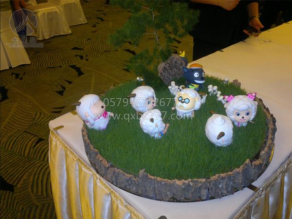 中餐宴会摆台-六一儿童主题图片