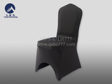 黑色包脚餐厅椅套  -QXYT061