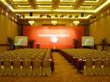 大型会议红色会议椅套 -QX-DXHY003