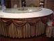 紫微大酒店包厢桌裙桌幔
