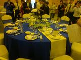 中餐宴会摆台-蓝色经典 -