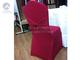 紫红弹力椅套带蝴蝶结