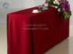紫红桌套主席台