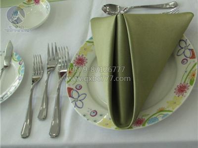 绿色餐厅口布-