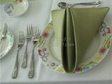 绿色餐厅口布 -