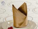 金咖啡餐桌口布 -QX-KB018