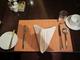 橙色西餐垫