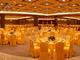 金黄桌布椅套宴会厅