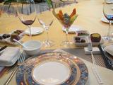 珠海海泉湾村度假酒店VIP贵宾接待 -长条桌布置