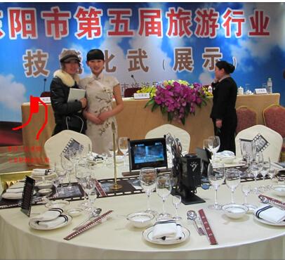 中餐宴会摆台主题与布草的搭配图片