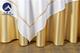 贡丝锦漂白嵌香槟金细条方台布 (2)