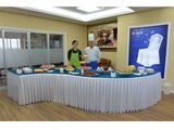 会议茶歇台布置 甜品台布置 -QX-CXT014
