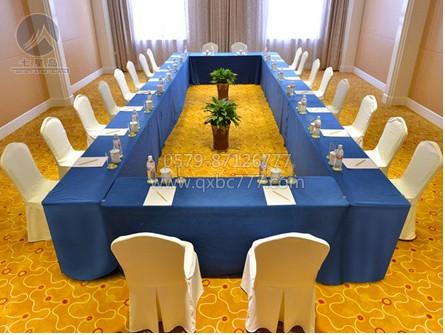 七星岛首页 新闻资讯 七星岛动态 会议桌布——主席桌布置