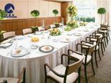 长条桌宴会桌裙 -
