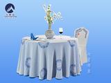 青花瓷薄纱桌布 -