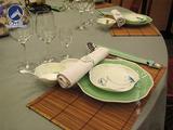 竹制西餐垫 -