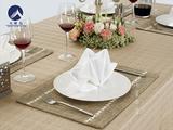 棉麻西餐桌布 -