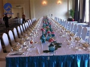 长条桌宴会桌裙