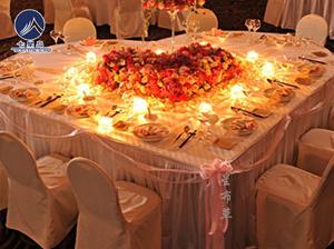 心型主婚桌-