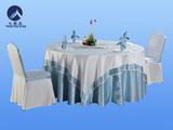 酒店包厢桌布椅套 -YT-001